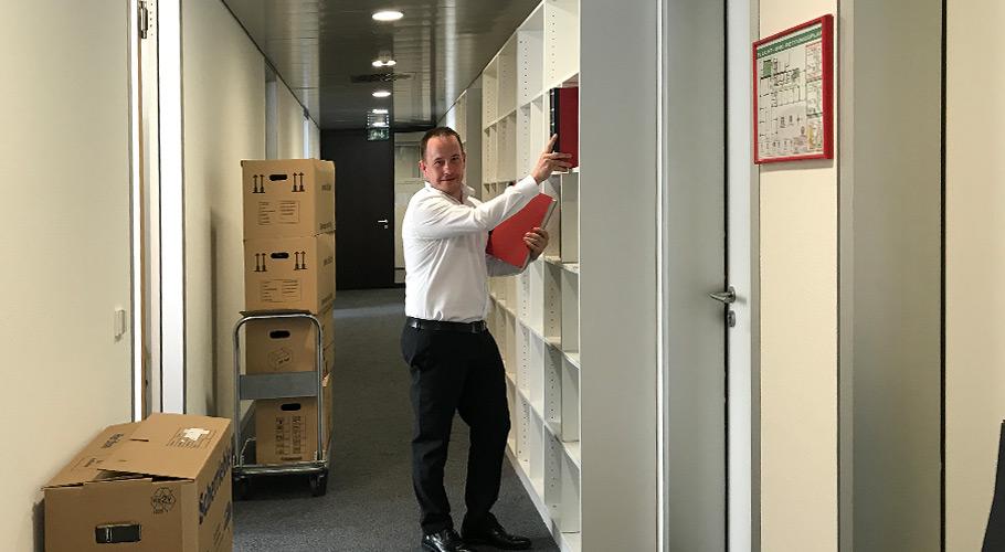 Geschäftsstelle ab sofort in neuen Räumlichkeiten!