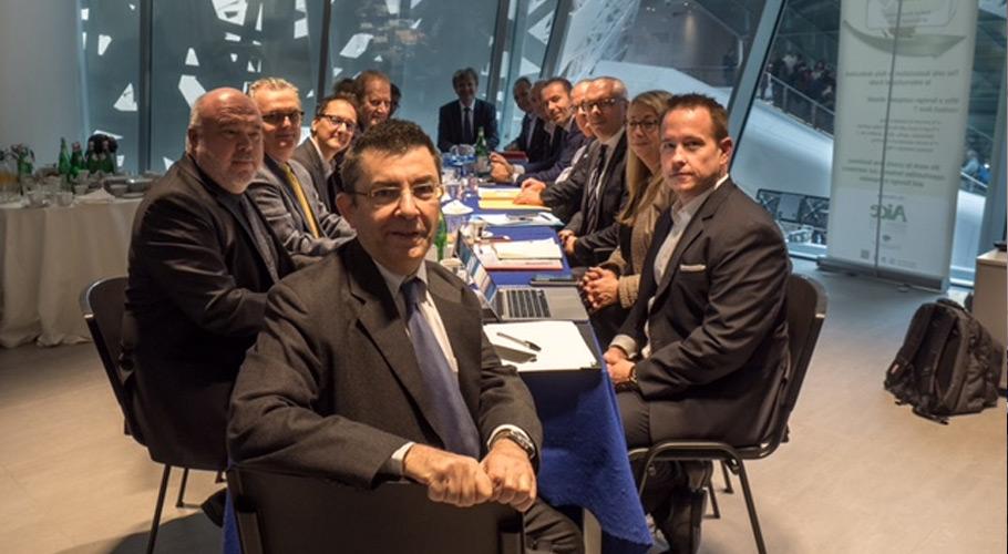 BVSU beim Treffen der europäischen Uhrenverbände