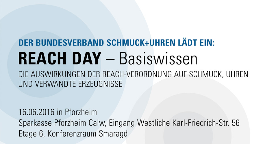 REACH DAY 2016: BASISWISSEN, am 16.06.216