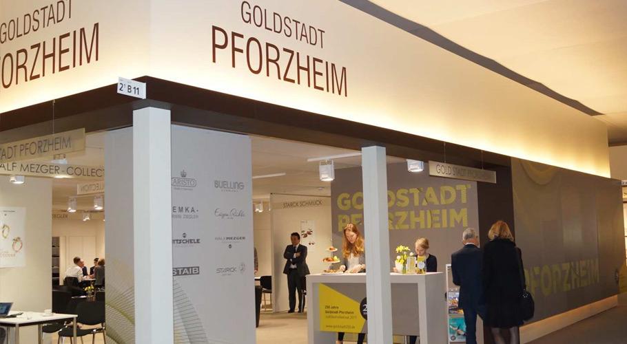 Freie Ausstellerfläche am Pforzheim-Pavillon der Baselworld 2017!