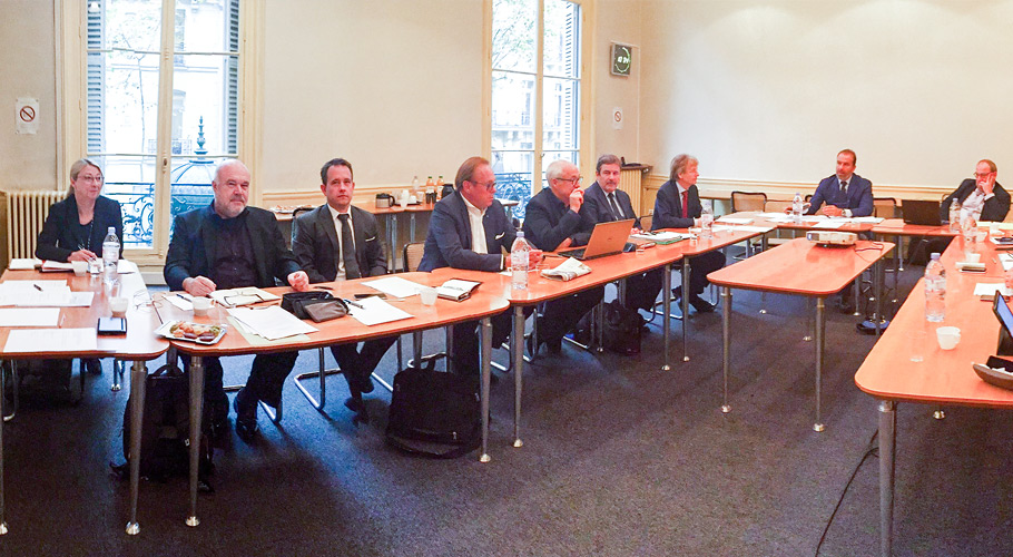 Treffen der europäischen Uhrenverbände in Paris