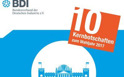 10 Kernforderungen des BDI
