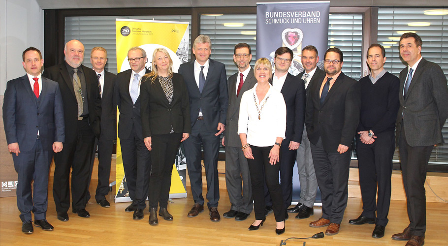 Mitgliederversammlung des BV Schmuck + Uhren am 08.02.2017