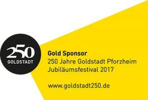 Bundesverband Schmuck und Uhren Goldsponsor bei Goldtadt 250