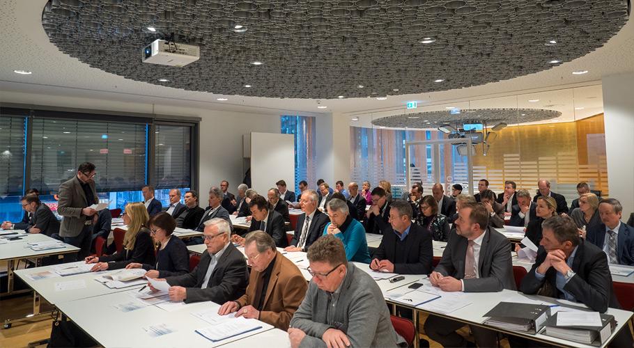 Mitgliederversammlung des BV Schmuck und Uhren am 07.02.2018