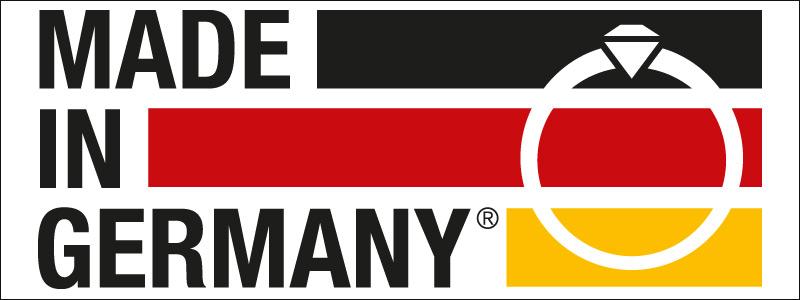 Made in Germany Schmuck Siegel des BV Schmuck und Uhren