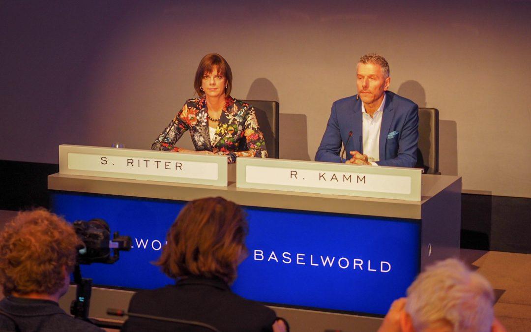 Pressekonferenz zum Abschluss der Baselworld 2018