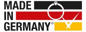 Made in Germany Qualitätssiegel BV Schmuck und Uhren