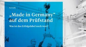 GTAI Broschüre Made in Germany auf dem Prüfstand