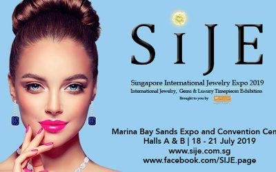 Angebot für Austeller zurSingapore International Jewelry Expo (SIJE) 2019