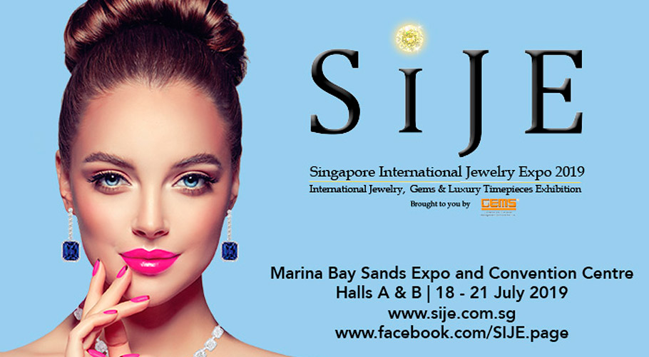 Angebot für Austeller zur Singapore International Jewelry Expo (SIJE) 2019