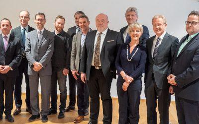 BVSU Präsident Uwe Staib im Amt bestätigt