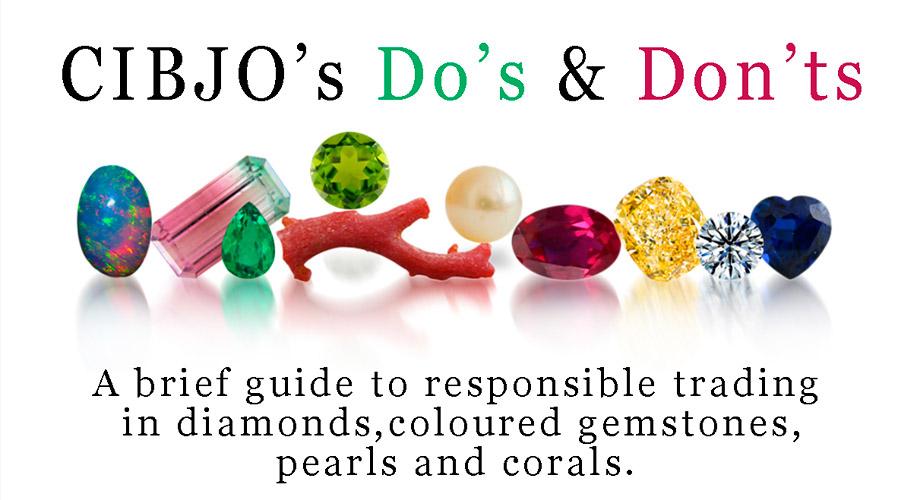 CIBJO Leitfaden für verantwortungsbewusste Praktiken im Umgang mit Diamanten, Farbedelsteinen, Perlen und Korallen