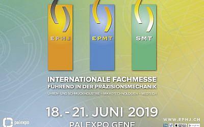 Die internationale Hochpräzisionsbranche trifft sich in Genf!