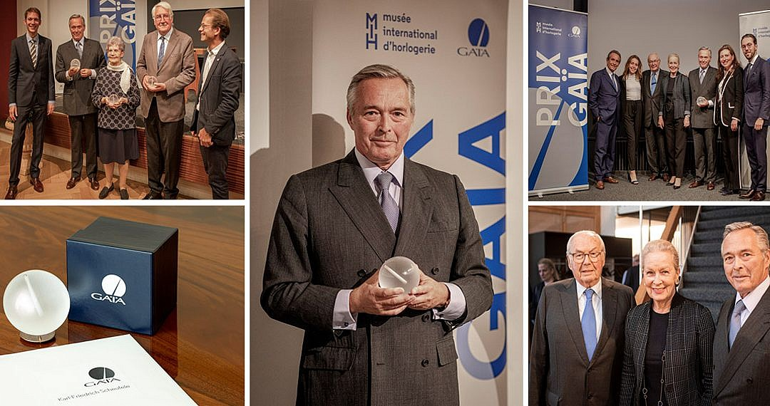 Karl-Friedrich Scheufele mit dem Prix Gaïa ausgezeichnet
