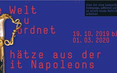 """Ausstellung im Schmuckmuseum: """"Die Welt neu geordnet – Schätze aus der Zeit Napoleons"""""""