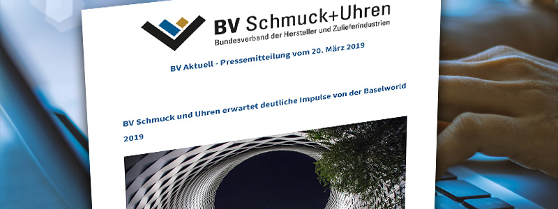 BV Schmuck und Uhren Newsletter