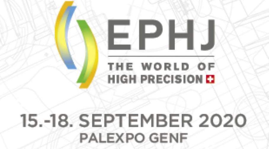 Besuchen Sie die EPHJ Fachmesse vom 15. bis 18. September 2020