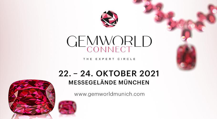 """""""Die Gemworld geht im Oktober mit Top-Schmuckmarken und dem Who is Who der deutschen Edelsteinindustrie an den Start"""""""